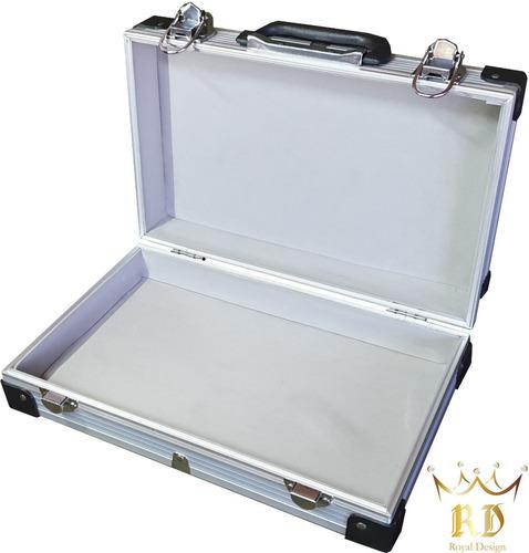 Imagen 1 de 1 de Maletín Aluminio * Reforzado* Caja Porta Herramientas Nro 1