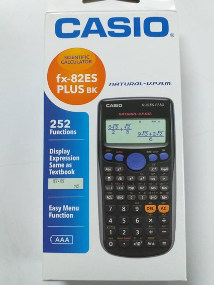 Calculadora Casio Fx82es Plus Original (negociable)
