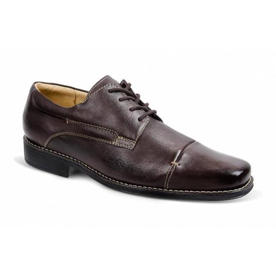 Sapato Social Masculino Derby Sandro Moscoloni Gary Marrom