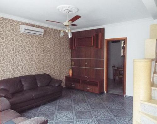 Casa Com 2 Dormitórios À Venda, 83 M² Por R$ 420.000,00 - Boqueirão - Santos/sp - Ca0147