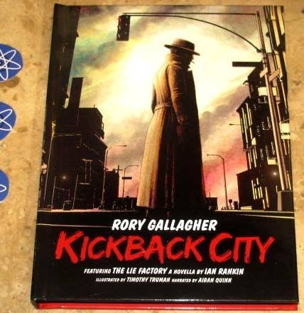 Box 3 Cd Imp Rory Gallagher - Kickback City (2013)c/ 4 Cards
