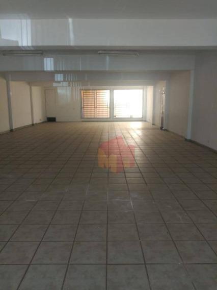 Salão Para Alugar, 205 M² Por R$ 5.500/mês - Centro - Americana/sp - Sl0081