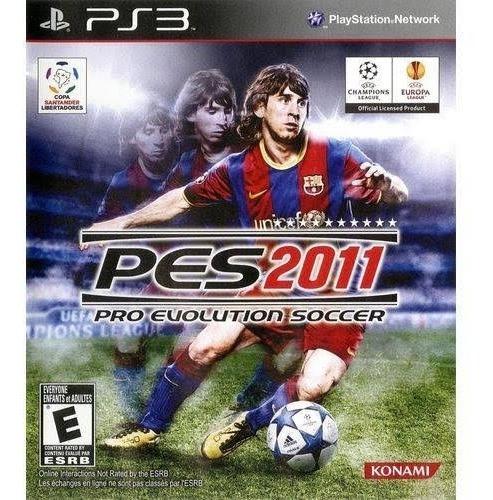 Game Play3 - Pes 2011 - Semi-novo Jogo Ps3