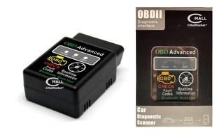 Scanner Automotriz Elm327 Advanced Obd2 Bluetooth Android Pc