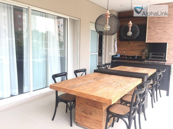 Apartamento Alto Padrão Boulevard 224 Metros, 3 Vagas - Tamboré - Alphaville - Ap0712