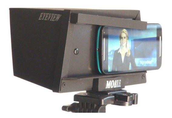 Teleprompter Eyeview Mobile Com Mine Tripé E Case