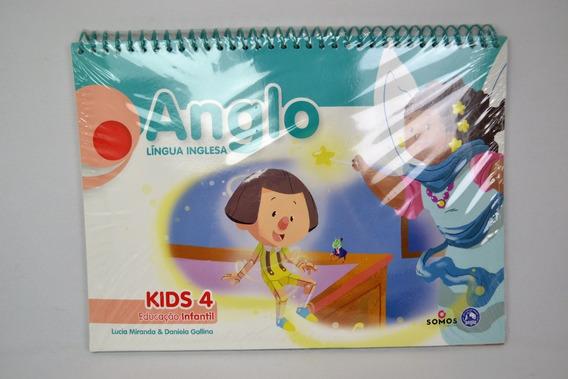 Apostila Anglo Lingua Inglesa Kids 4 Educacao Infantil