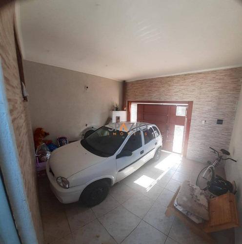 Imagem 1 de 9 de Casa Com 1 Dormitório À Venda, 89 M² Por R$ 190.000,00 - Parque Mãe Preta - Rio Claro/sp - Ca0543