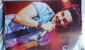 Mini Poster Luan Santana
