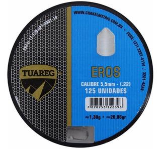 Chumbinho Tuareg Eros 5.5mm 125un.