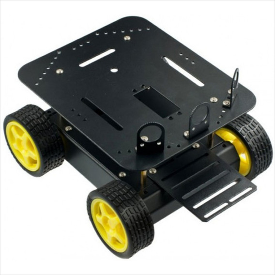 Plataforma P/ Arduino Robô Carro Dfrobot 4wd Rob0003 Leia