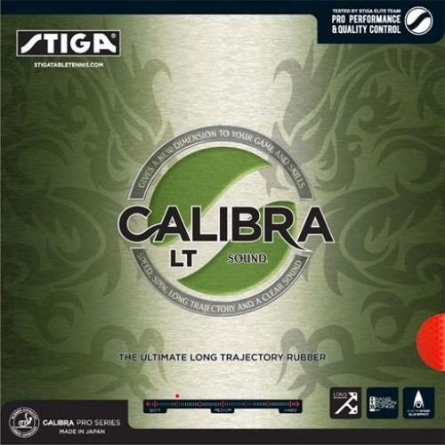 Jebe Goma Calibra Lt Sound 2.0 Negro Tenis De Mesa Ping Pong