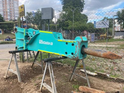 Martillo Hidráulico Excava 1700 Kgs Marca Everdigm Año 2012