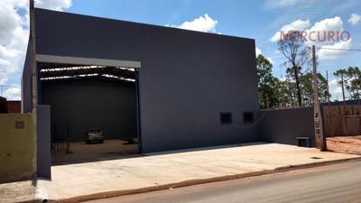 Barracão Comercial Para Locação, Vila Aimorés, Bauru. - Ba0064