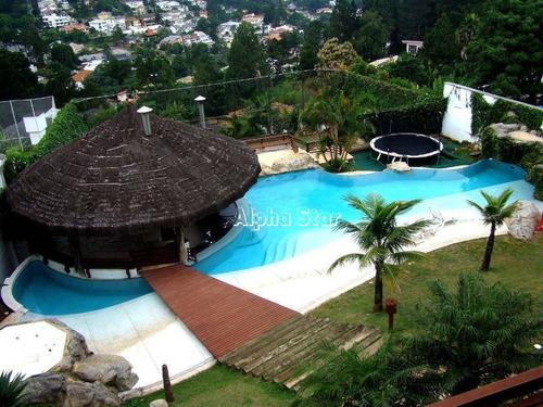 Imagem 1 de 30 de Casa Com 7 Dormitórios À Venda, 1600 M² Por R$ 8.900.000,00 - Alphaville 10 - Santana De Parnaíba/sp - Ca3469