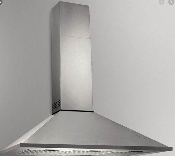 Campana Piramidal Tst 90cm Para Cocina 6 Hornallas Salida