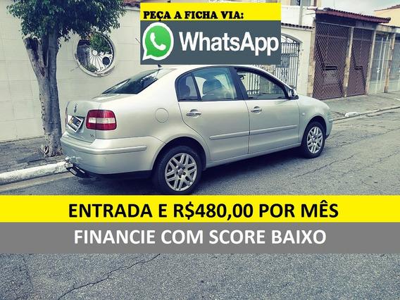 Volkswagen Polo Financio C/ Score Baixo Entrada E 580 Mensal