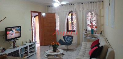 Sobrado Com 4 Dormitórios À Venda, 200 M² Por R$ 549.000 - Parque Novo Oratório - Santo André/sp - So1078