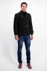 Abrigo Peacoat Para Hombre Slim Fit 8e9c65f70a7