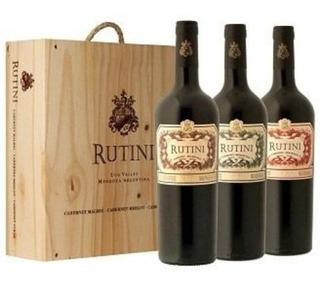 Colección Estuche Madera Rutini X 3. - Envío Gratis!