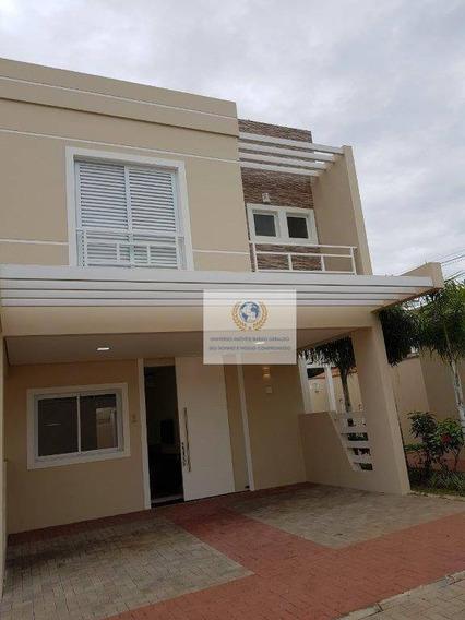 Casa Com 3 Dormitórios Para Alugar, 150 M² Por R$ 3.500,00/mês - Parque Taquaral - Campinas/sp - Ca0661