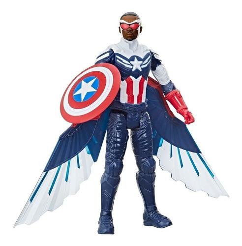 Imagem 1 de 4 de Boneco Marvel Falcão E O Soldado Invernal Capitão América