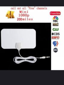 Antena Tv Digital Hdtv - 25 Db- Auto Ganho