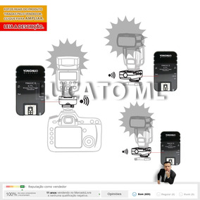 Kit 3 X Radio Flash Yongnuo Yn622cii Ettl P/ Canon Yn | Ap