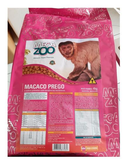 Megazoo Macaco Prego E Outros Primatas Herbívoros 4kg