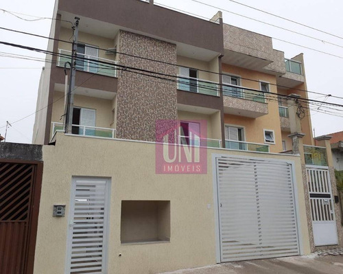Imagem 1 de 12 de Apartamento Com 2 Dormitórios À Venda, 58 M² Por R$ 270.000,00 - Vila Bela Vista - Santo André/sp - Ap1520