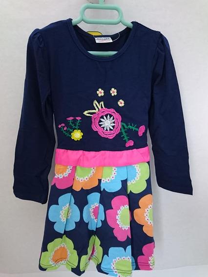 Vestido Para Niñas De 3 A 4 Años