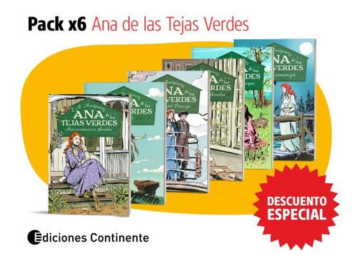 Ana De Las Tejas Verdes Coleccion Completa 6 Tomos Tapa Dura
