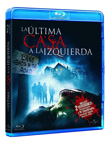 Blu Ray A Última Casa - Legendado, Lacrado. 2 Versões