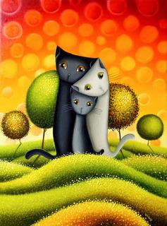 Posters De Gatos Adhesivos Gigantes - Varios Diseños
