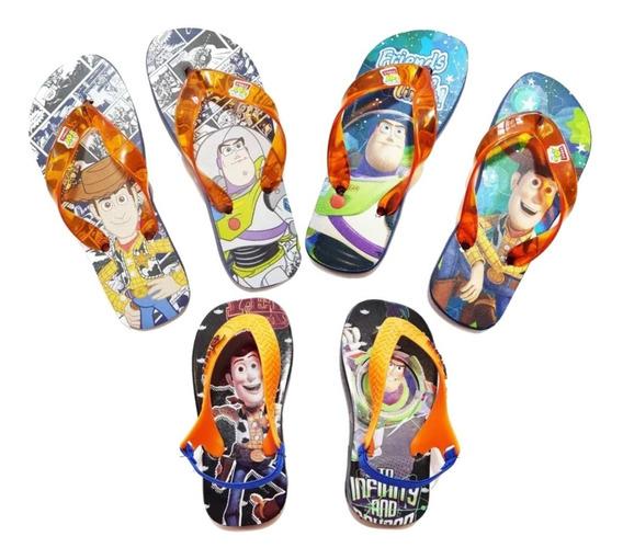 Sandalias Toy Story Disney Ojotas Original Plumitaa Ojod