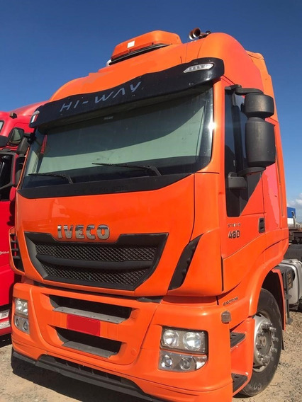 Stralis Hi-way 480 6x2 Ano 2014