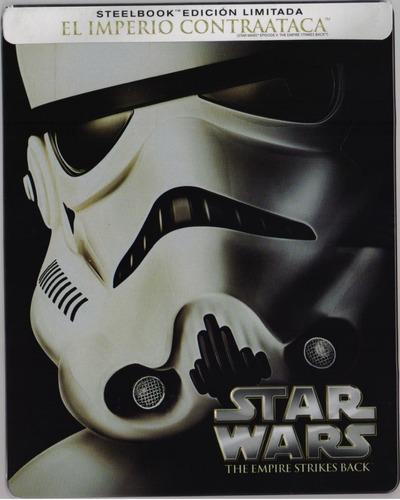 Star Wars 5 V El Imperio Contraataca Steelbook Blu-ray