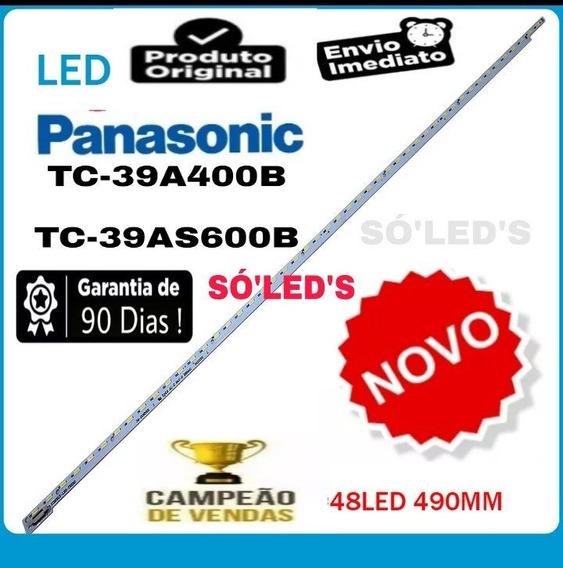 Barra De Led Para Tv Panasonic Tc-39a400b Nova Em Alumunio!