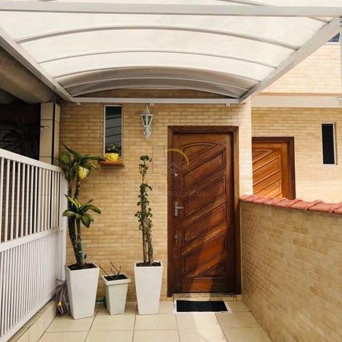 Casa Com 3 Dorms, Esplanada Dos Barreiros, São Vicente - R$ 290 Mil, Cod: 2414 - V2414