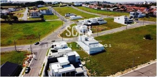 Terreno Com 275 M2 Em Monte Mor - Jardim Planalto Por 110.00 - 185