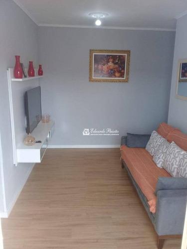 Imagem 1 de 30 de Apartamento Com 2 Dormitórios À Venda, 57 M² Por R$ 180.000,00 - Jardim Iporanga - Guarulhos/sp - Ap0382