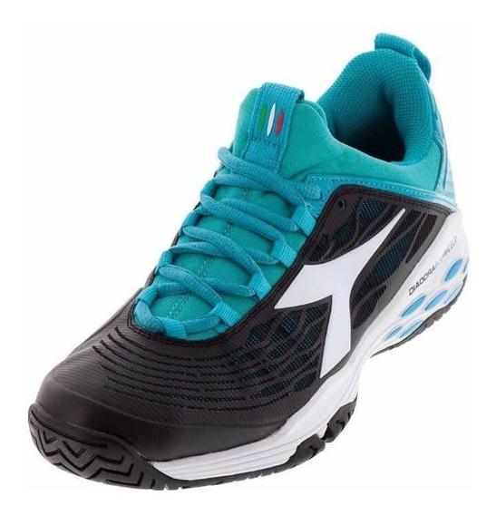 Zapatillas Diadora Blueshield Fly Mujer Tenis Padel