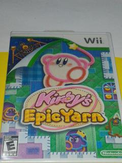 Kirbys Epic Yarn Wii Nintendo Nuevo Y Sellado