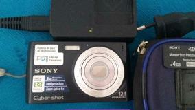 Câmera Digital Sony+cartão De Memória 4gb+capa+carregador