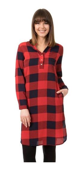 Vestido Camisa Dama Rocco - D500405 -