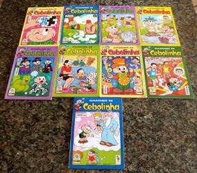 Kit Almanaque Do Cebolinha (9 Edições)