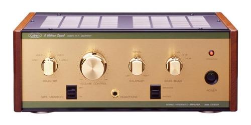 Imagen 1 de 3 de Amplificador Integrado Valvular Leben Cs-300xs 2x15w Stock