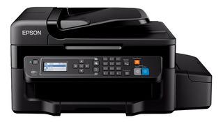 Impresora a color multifunción Epson EcoTank L575 con wifi 220V negra