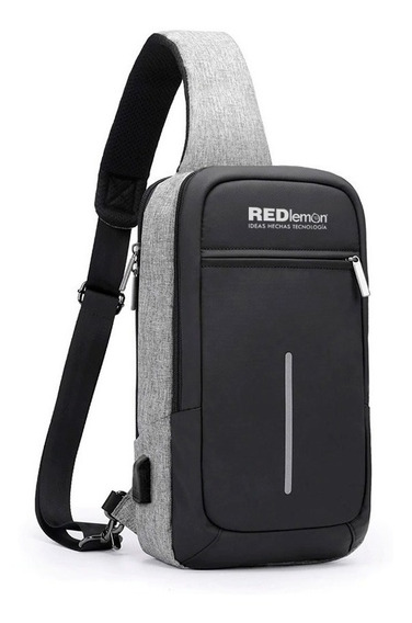 Redlemon Mochila Antirrobo Mini Impermeable Cruzada Notebook