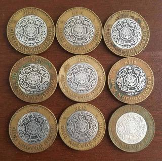 Monedas 10 Nuevos Pesos Centro De Plata